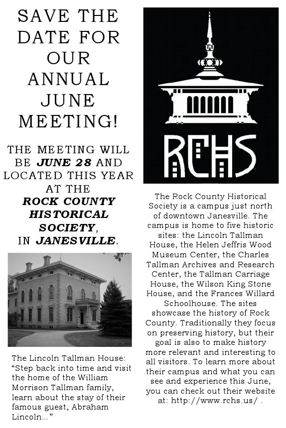 Annual Meeting 2017 Save the Date