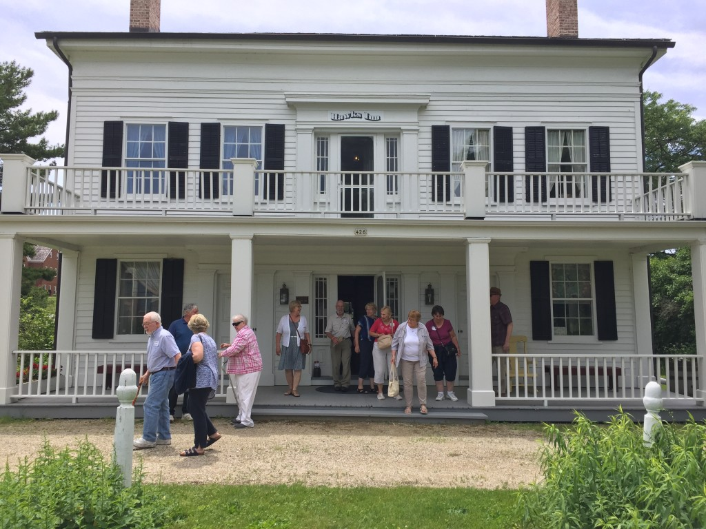 Annual Meeting 2019 Hawks Inn tour